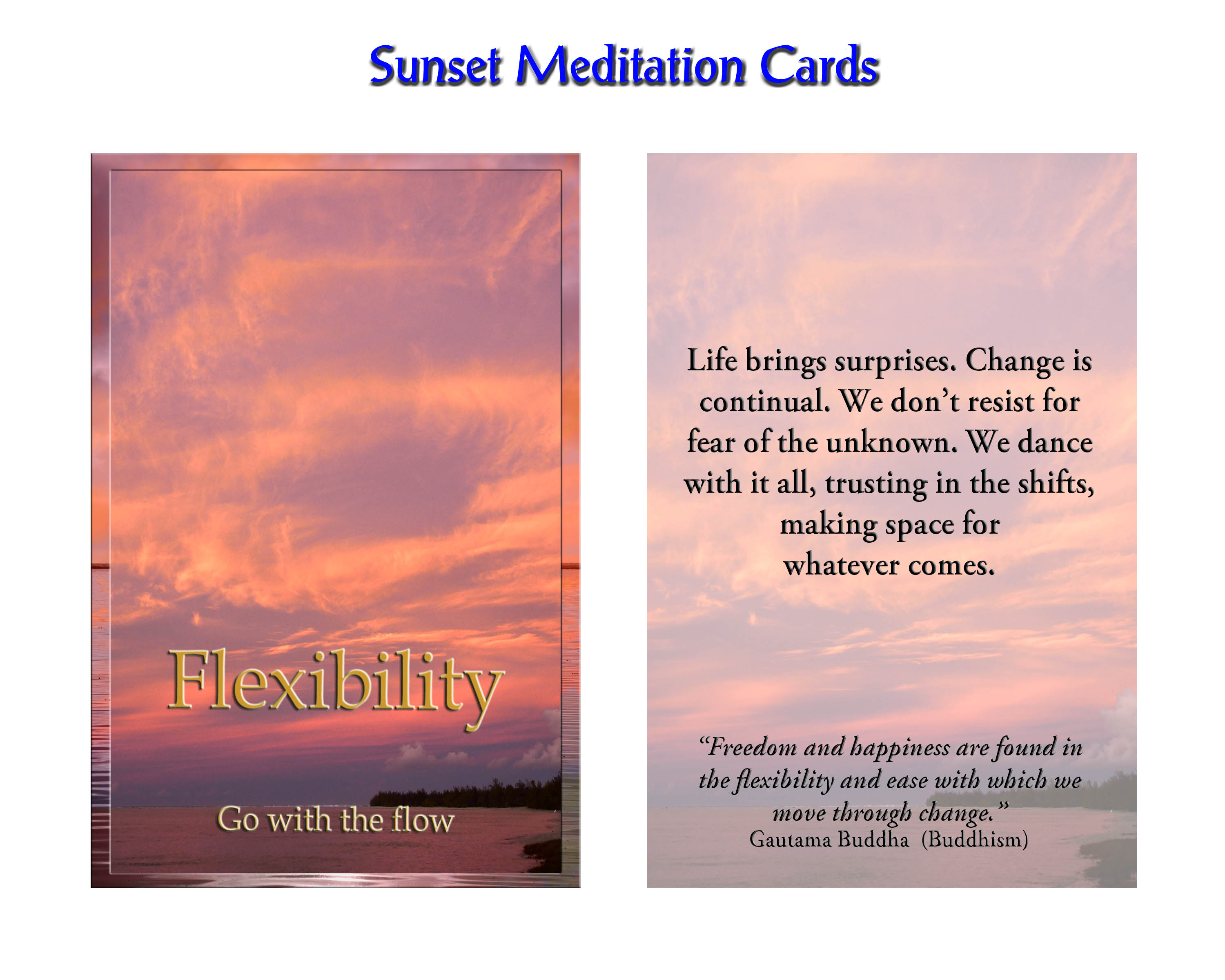 bfc8d56652b Sunset Meditations available at www.virtuesshop.com